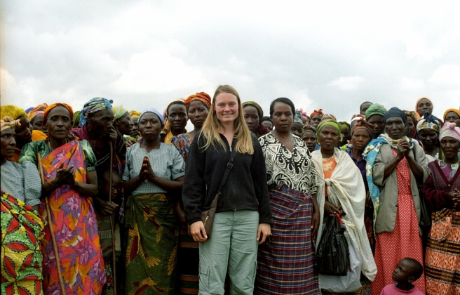 Gretchen Steidle of Global Grassroots in Uganda